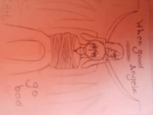 my friends drawin2