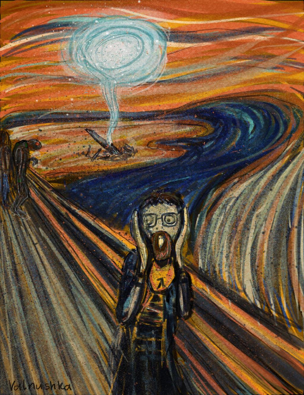 Half-Life - Scream by Valnushka