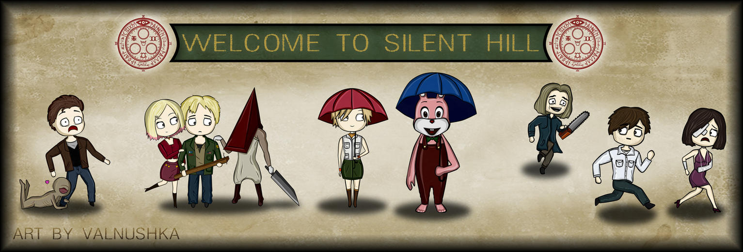 Silent Hill 1-4 by Valnushka