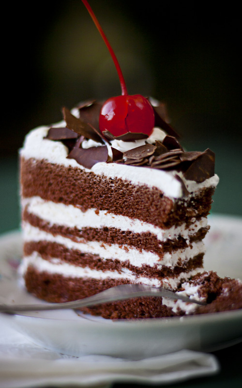 black forest cake by cumberries on