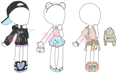 Custom Outfits - Batch #12 by LoveFromEsth