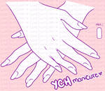 [Closed] YCH Manicure! by LoveFromEsth