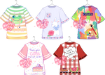 [OPEN - 1 left!] T-shirt Designs by LoveFromEsth