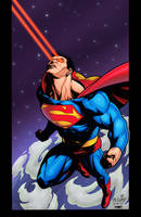 Superman by Kirby-Colors by SplashColors