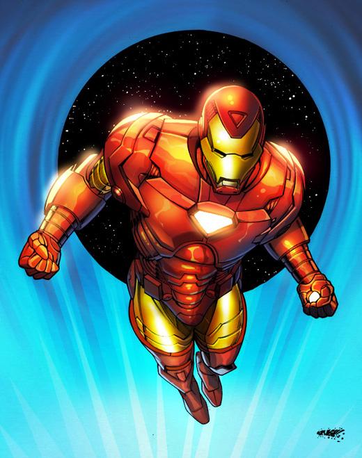 Iron Man-Marvel Sample 3 by SplashColors