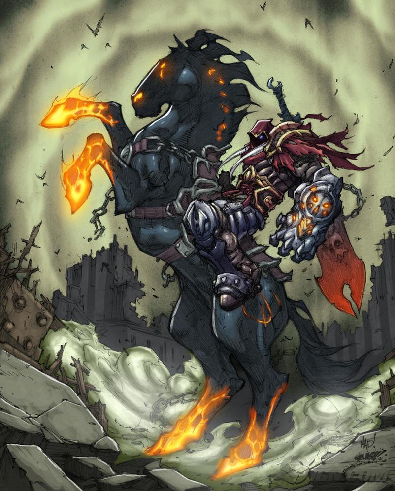 Darksiders-War-Paints by SplashColors