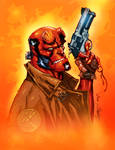 Hellboy-J Scott Campbell-color