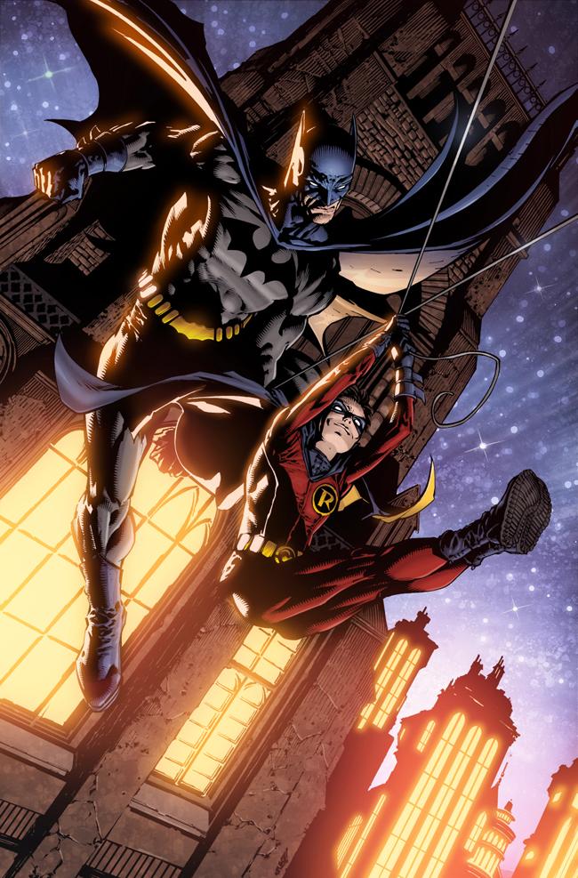 Batman by Finch+Friend Colors by SplashColors