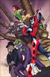 Batman Villians colored by SplashColors