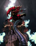 Hellboy by Keu Cha colored