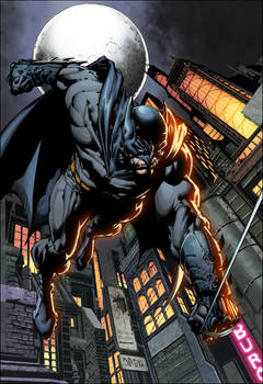 Dark Knight by Finch colors