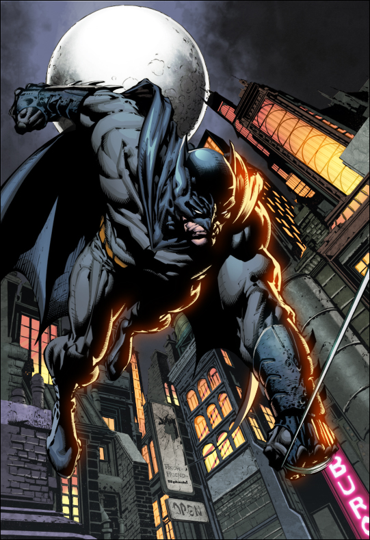 Dark Knight by Finch colors by SplashColors