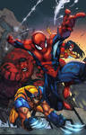 Avenging Spider Man by Mad colored
