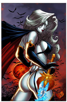 Lady Death by DeBalfo colors 2