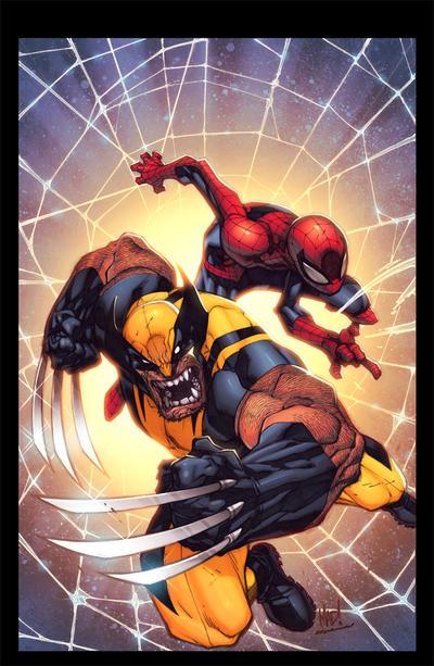 Savage Wolverine by Joe Mad! Colors by Splash! by SplashColors