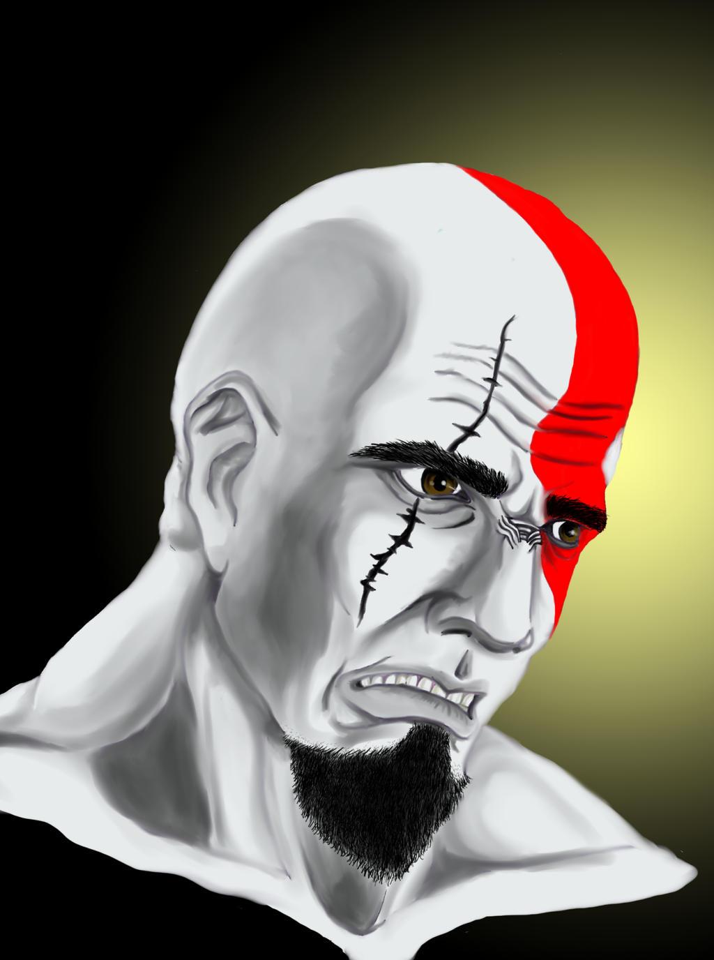Kratos by DDensetsu