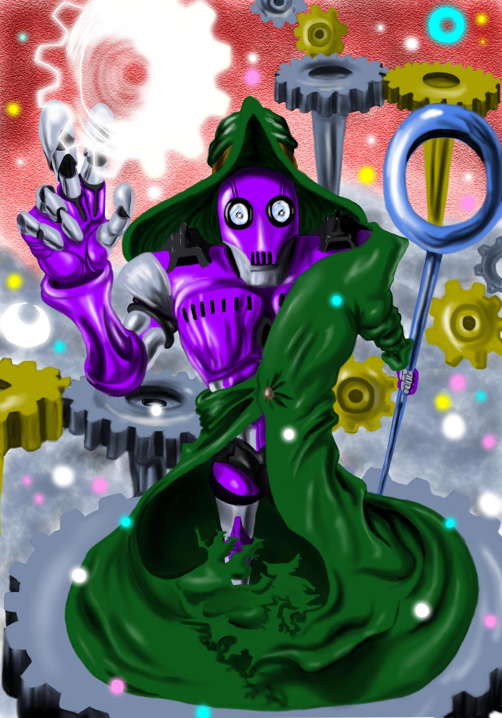 Magician Robot by DDensetsu