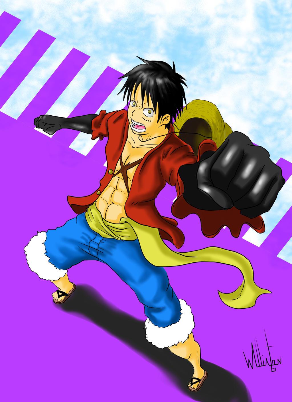 Monkey D. Luffy by DDensetsu