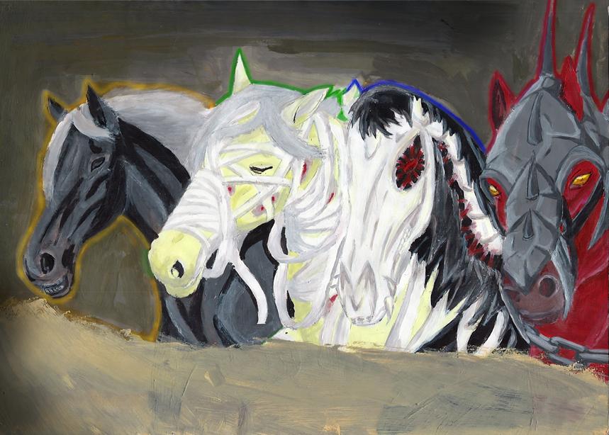 4 Horses of the Apocalypse F by kimikow1 on DeviantArt