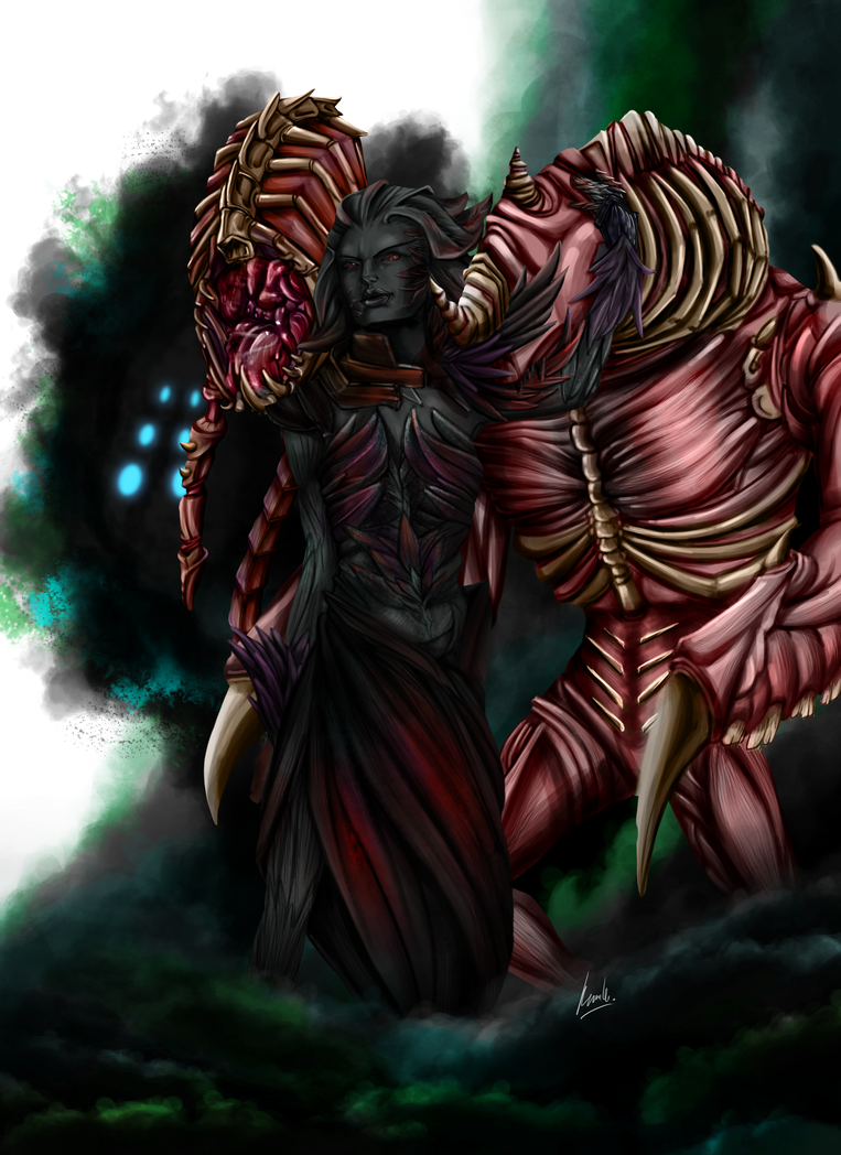 Midona Twili - Guild Wars 2 by kimikow1