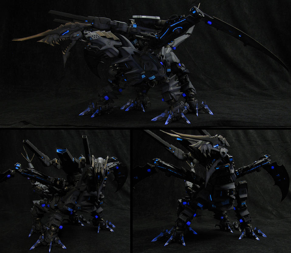 Gil Kaiserin - Second commissioned custom Zoid by GHancock