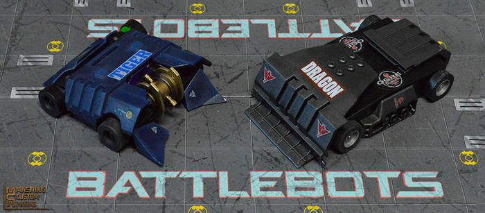 MCW Battlebots Tiger-Dragon