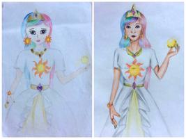 [FA redraw] Princess Celestia
