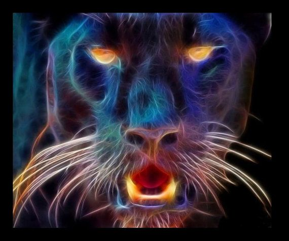 Feirce Panther by Mirasai