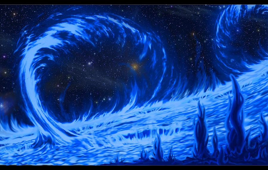 Blue fire by Bernhoft