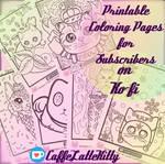 Original Art Coloring Pages
