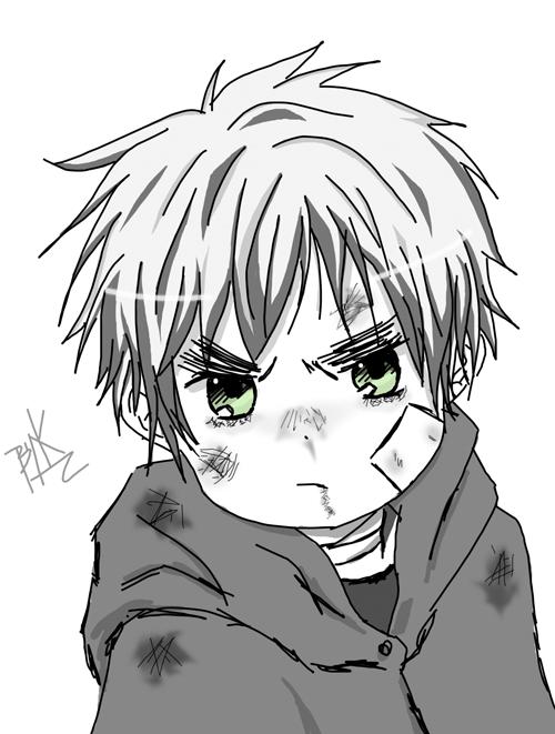 [APH]Sketch - Chibi Iggi by KanaAmai