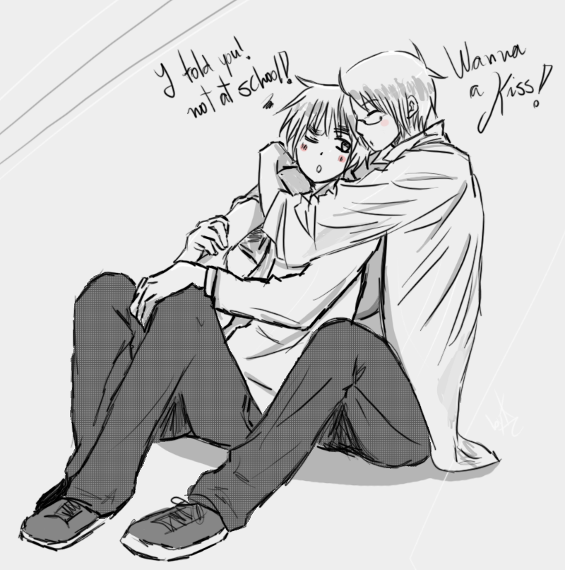 [APH]Wanna a kiss! [UsUk] by KanaAmai