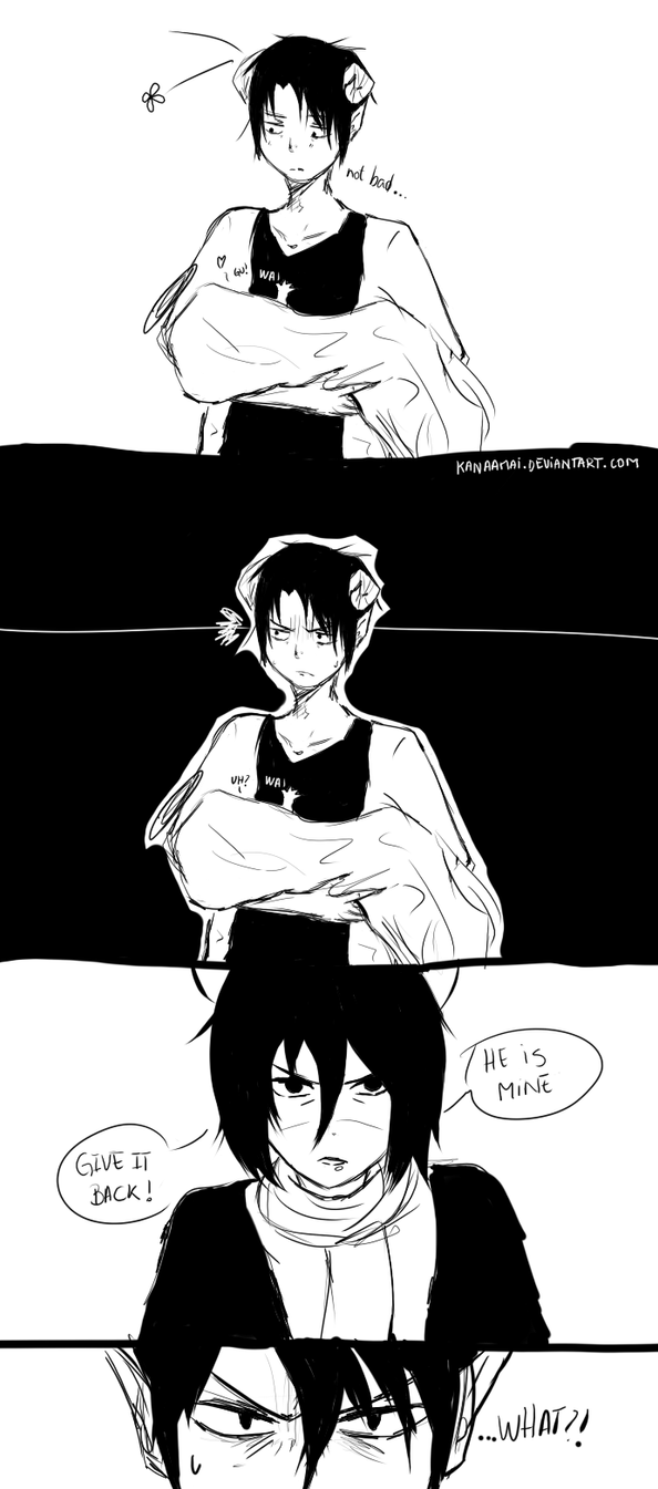 [Ereri] Devil Levi Comic by KanaAmai
