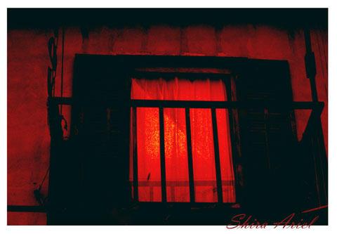 Fire's Red Window by lifelessrose