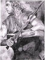 Achilles by Dahteste