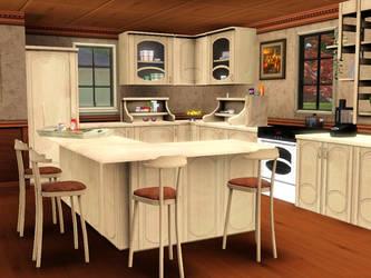 Barna Kitchen by Flowarin