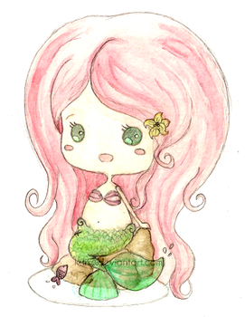 Chibi Little Mermaid