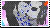 Aradia x Equius - Stamp by iron-grrrl