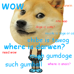 GumDoge Waterdoge by tawogfan