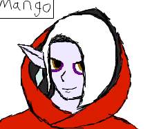 Quick Ghirahim Doodle by sharkdivus