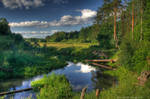 ORT1 HDR - riverside evening
