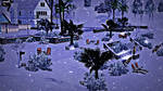 The beach covered with Snow - The Sims 3 Seasons