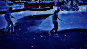 Ice Skating - The Sims 3 Seasons