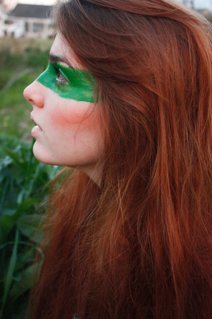 Green Woman 1 by Anikathropoloustock