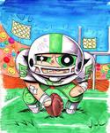 Buttercup Plays Football