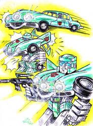 Three-Eyed Tucker Autobot