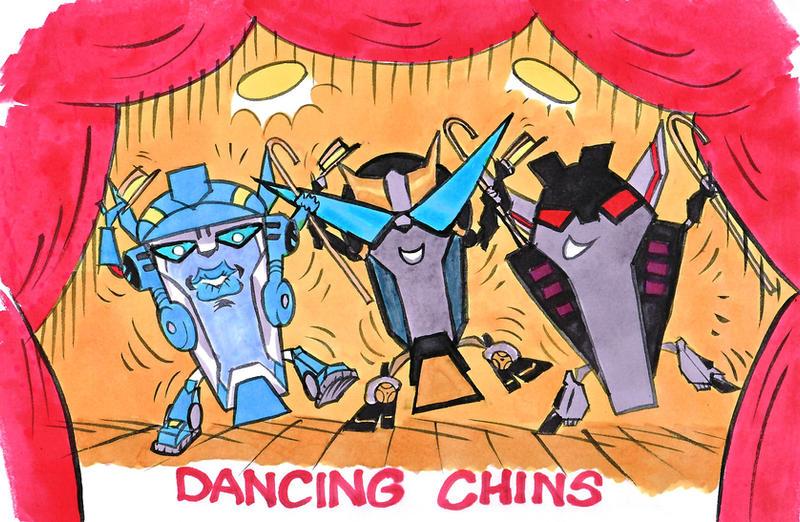 Dancing TFA Chins by blackhellcat