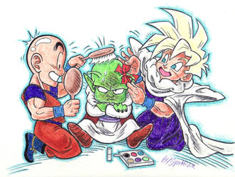 Dende Gets A Big Makeover. by blackhellcat