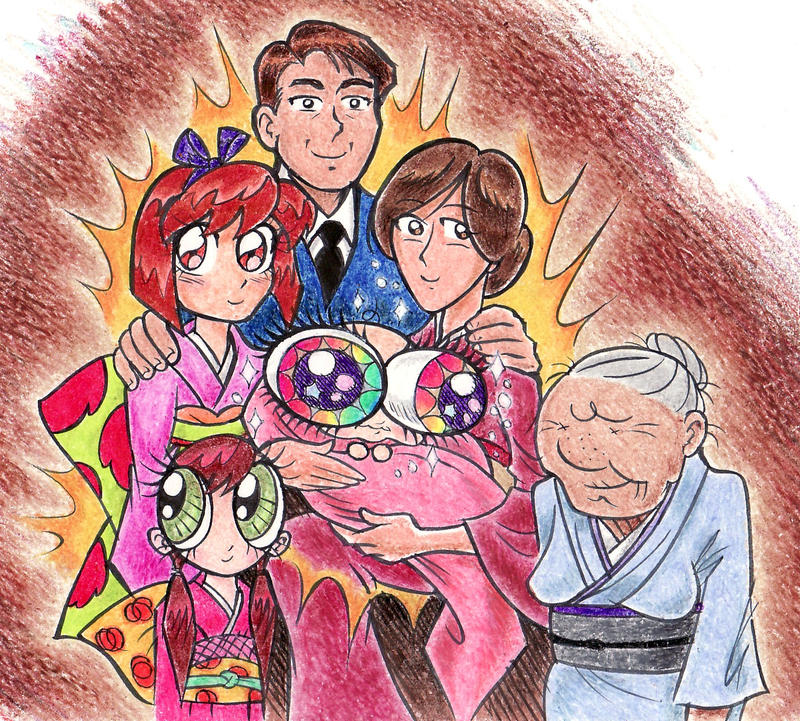 Anime Family Of Shrinking Eyes by blackhellcat on DeviantArt