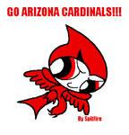 Buttercup As Arizona Cardinal